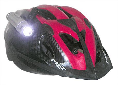 CatEye HL-EL400 на шлеме