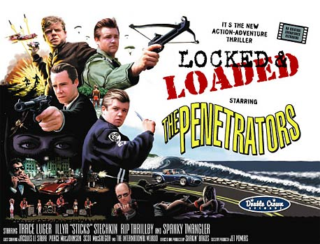 The Penetrators - Locked and Loaded